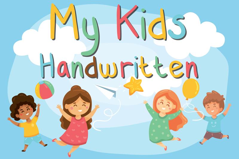 My Kids Handwritten