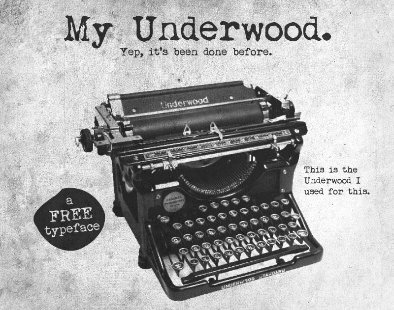 My Underwood
