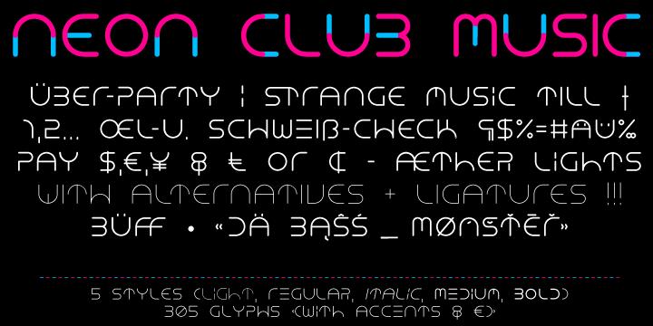 Neon Club Music