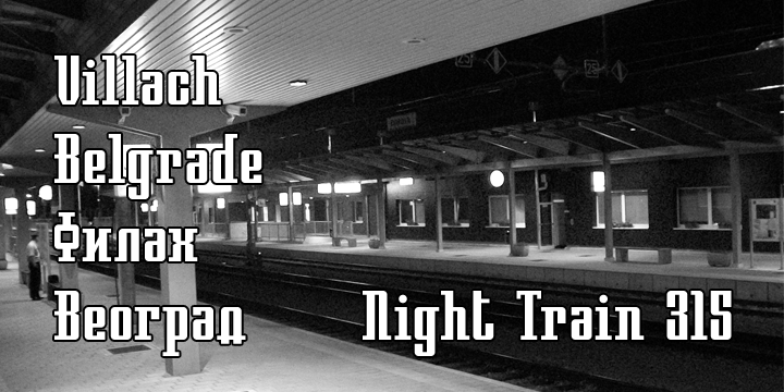 Night Train 315