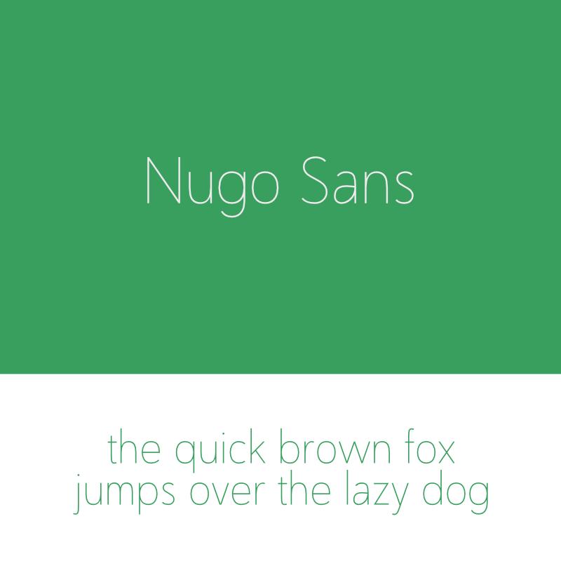 Nugo Sans