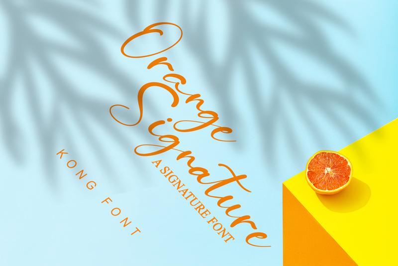 Orange Signature