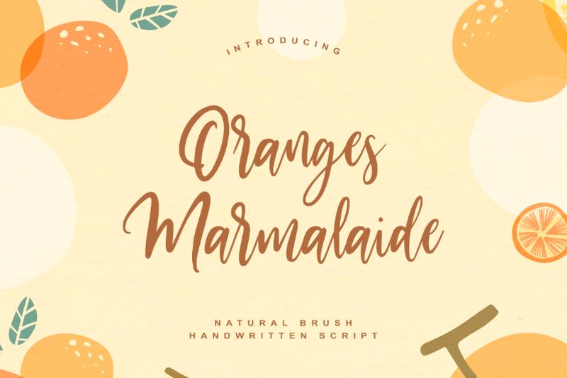Oranges Marmalaide
