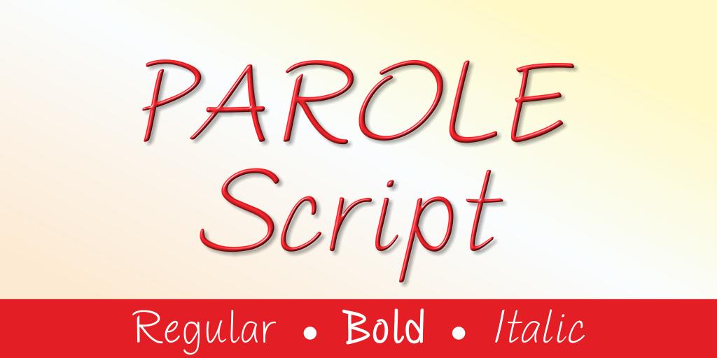 Parole Script