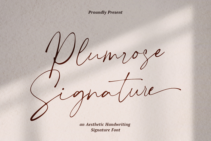 Plumrose Signature