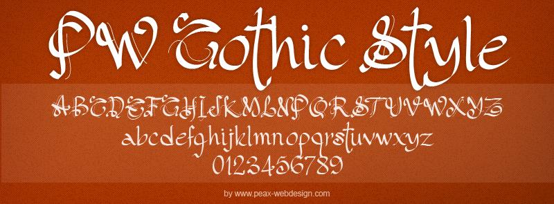 PW Gothic Style