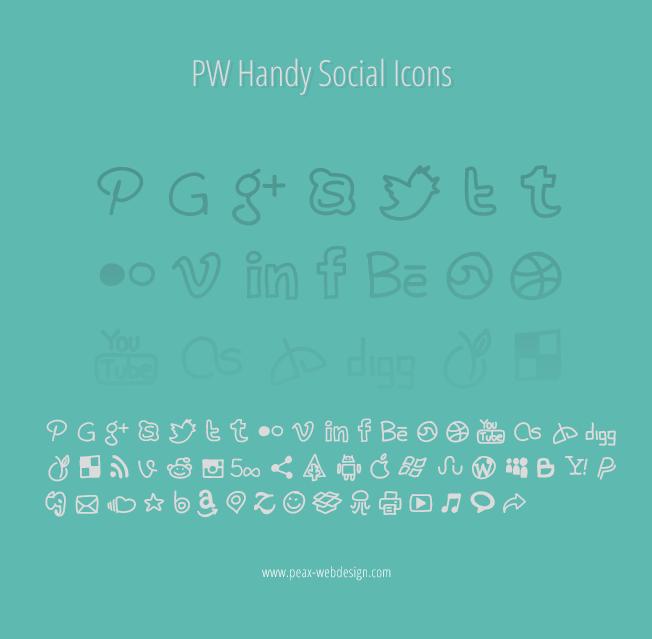 PW Handy Social Icons