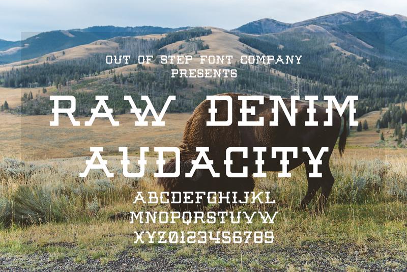 Raw Denim Audacity