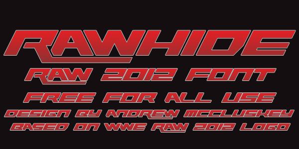 Rawhide Raw 2012
