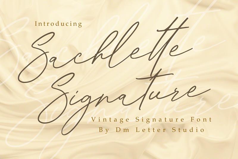 Sachlette Signature