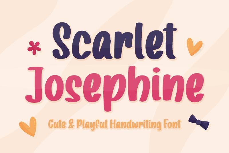 Scarlet Josephine