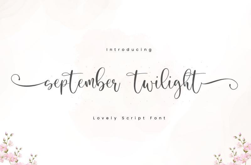 September Twilight