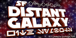 SF Distant Galaxy Symbols