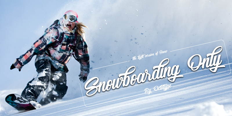 Snowboarding Only