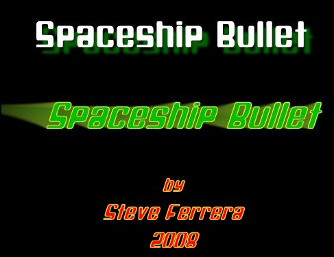 Spaceship Bullet