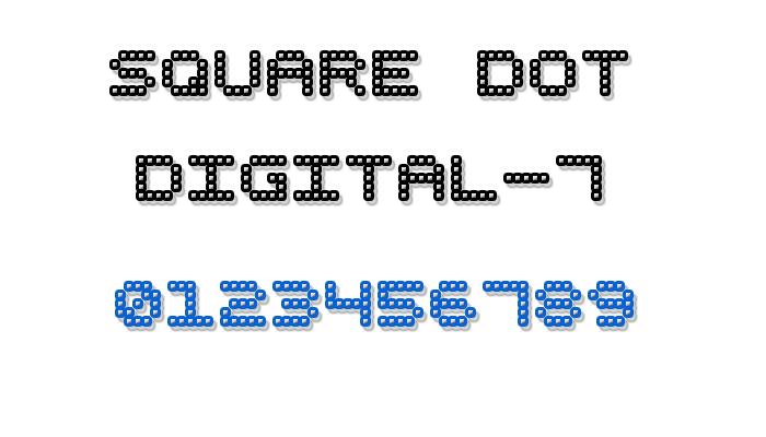 Square Dot Digital-7