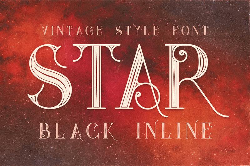 Star Black Inline