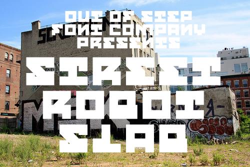 Street Robot Slab