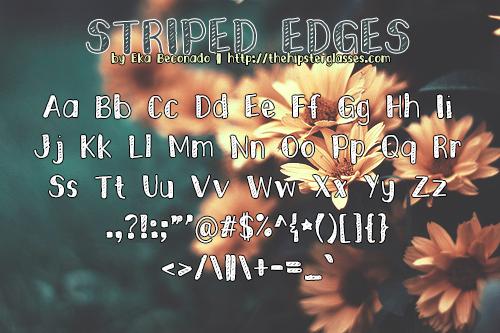 Striped Edges