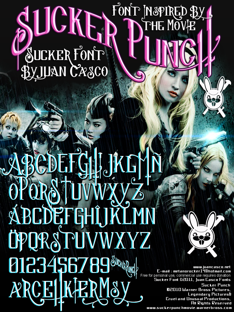 Sucker Font