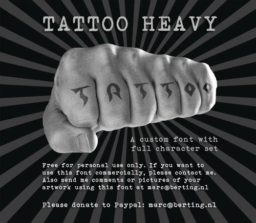 Tattoo Heavy