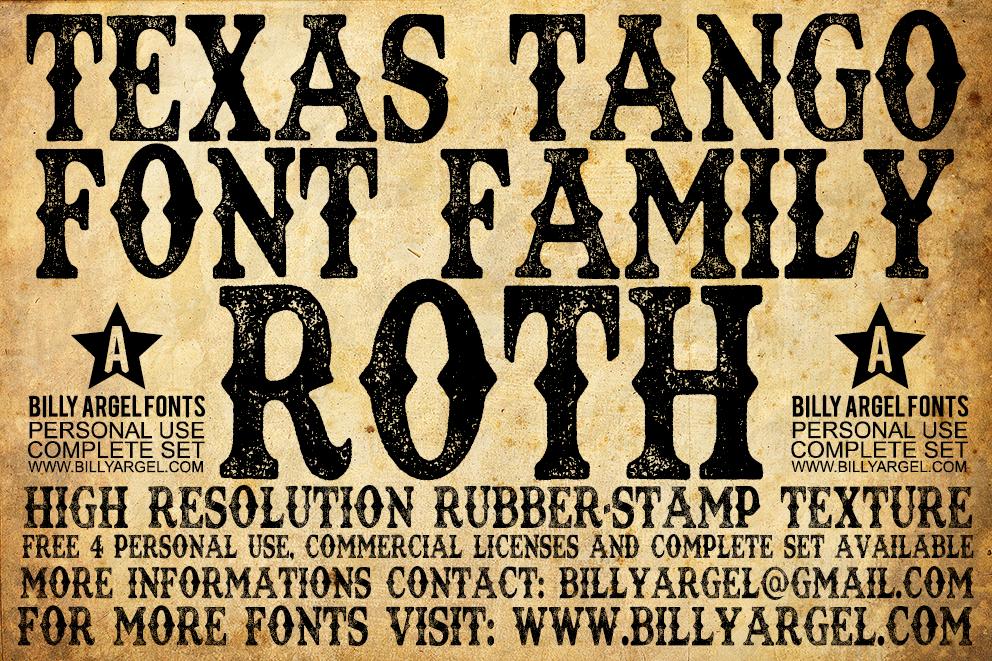 Texas Tango Extra Roth