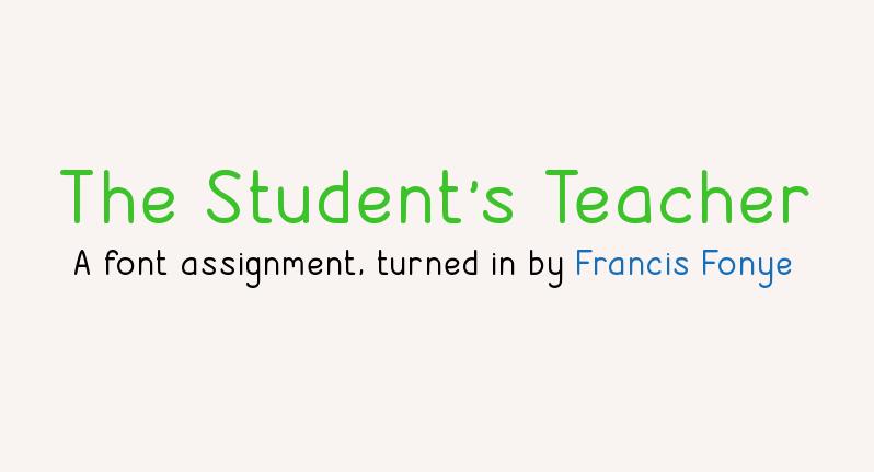The Students Teacher