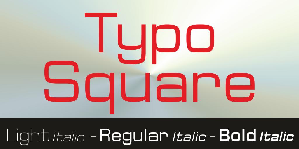 Typo Square