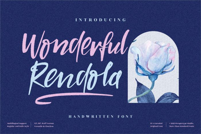 Wonderful Rendola