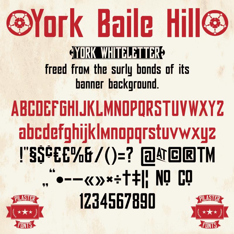 York Baile Hill